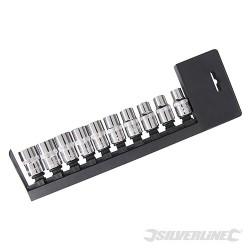 "Socket Set 1/2"" Drive 6pt Metric 10pce - 10 - 19mm"