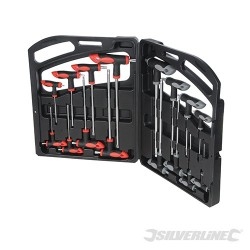 T-Handle Wrench Set 16pce - 16pce
