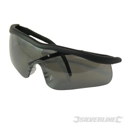 Smoke Lens Safety Glasses - Shadow