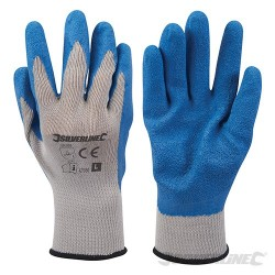 Latex Builders Gloves - L 10