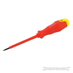 Insulated Soft-Grip Screwdriver - 2.5 x 75mm