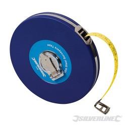 Steel Surveyors Tape - 50m / 165ft x 13mm