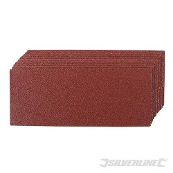 Brusný papír (na brusky na 1/3 papíru) - 10 kusů - 60 Grit