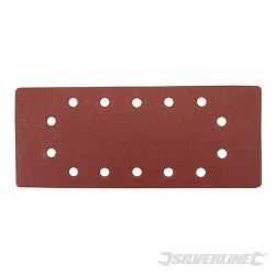 1/2 Sanding Sheets Punched 10pk - 120 Grit