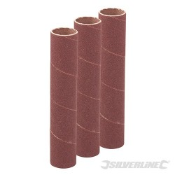 90mm Bobbin Sleeves 3pk - 19mm 120 Grit