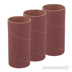 90mm Bobbin Sleeves 3pk - 51mm 80 Grit