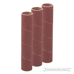 114mm Bobbin Sleeves 3pk - 19mm 60 Grit