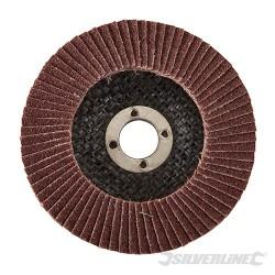 Aluminium Oxide Flap Disc - 100mm 40 Grit