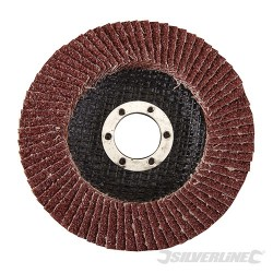 Aluminium Oxide Flap Disc - 115mm 40 Grit