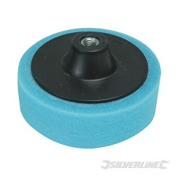 M14 Foam Polishing Head - 150mm Medium Blue