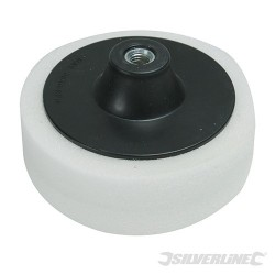 M14 Foam Polishing Head - 150mm Firm White