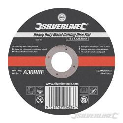 Heavy Duty Metal Cutting Disc Flat - 115 x 3 x 22.23mm