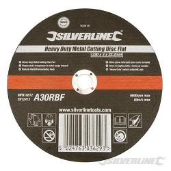 Heavy Duty Metal Cutting Disc Flat - 230 x 3 x 22.23mm