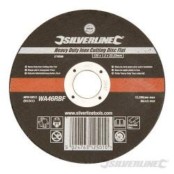Heavy Duty Inox Cutting Disc Flat - 125 x 1.2 x 22.23mm