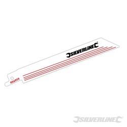 Recip Saw Blades for Alloy 5pk - HCS - 18tpi - 150mm