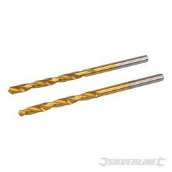 HSS Titanium-Coated Drill Bits 2pk - 4.0mm