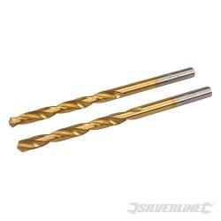 HSS Titanium-Coated Drill Bits 2pk - 5.0mm