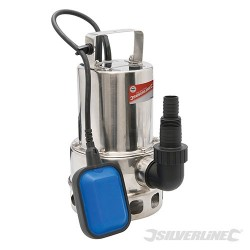 550W Dirty Water Pump Stainless Steel - 10,500Ltr/hr UK