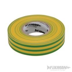 Insulation Tape - 19mm x 33m Green/Yellow