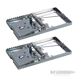 Metal Mouse Trap 2pk - 115 x 60mm