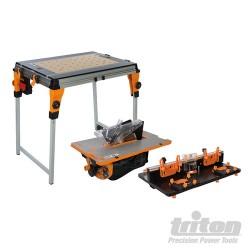 TWX7 Workcentre, Router Table & Contractor Saw Module Kit - TWX7CS1RT1
