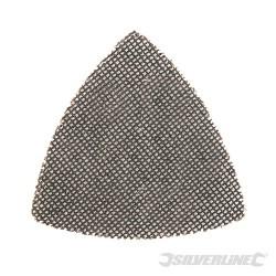 Hook & Loop Mesh Triangle Sheets 95mm 10pk - 180 Grit