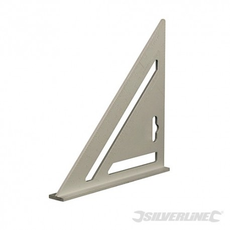 Heavy Duty Aluminium Roofing Rafter Square - 7""