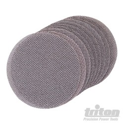 Hook & Loop Mesh Sanding Disc 150mm 10pk - 240 Grit