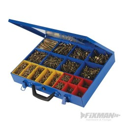 Goldstar Countersink Screws Pack - 3400pce