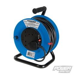Cable Reel 230V Freestanding - 4-Gang 25m