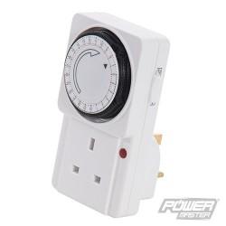 Plug-In Mechanical Timer 230V - 24 Hour