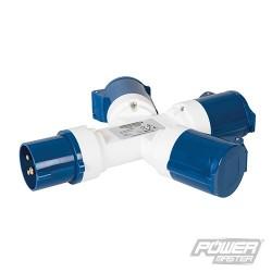 16A 3-Gang Splitter - 230V 3 Pin