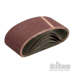 Sanding Belt 64 x 406mm 5pk - 80 Grit