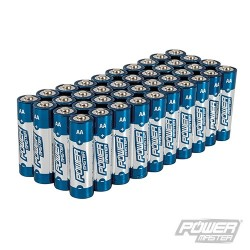 AA Super Alkaline Battery LR6 40pk - 40pk