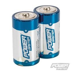 C-Type Super Alkaline Battery LR14 2pk - 2pk