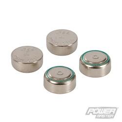 Alkaline Button Cell Battery LR44 4pk - 4pk