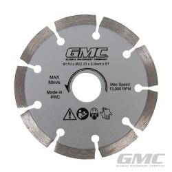 Diamond Saw Blade GTS1500 - Diamond Saw Blade 110 x 22.23 x 2mm x 9T