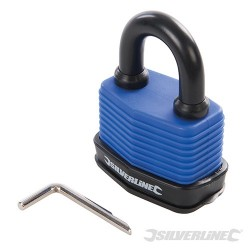 Weatherproof Combination Padlock - 50mm
