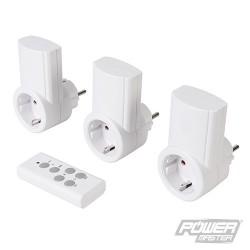 Wireless Remote Control Power Socket 230V 3pk - EU 13A 230V
