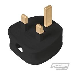 13A Fused Plug - Black
