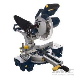 1800W Double Bar Sliding Mitre Saw 210mm - GM210S UK