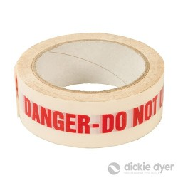 DANGER DO NOT USE Identification Tape - 38mm x 33m