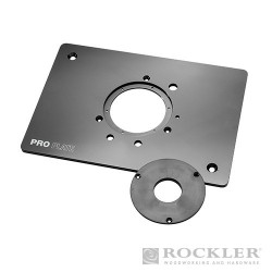 Aluminium Pro Router Plate (Blank) for Non-Triton Routers - 8-1/4 x 11-3/4""