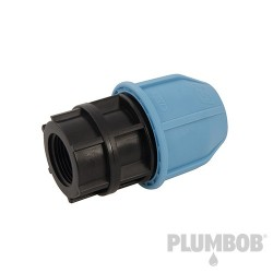 MDPE Female Adaptor - 25mm x 3/4""
