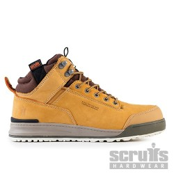 Switchback Safety Boot Tan - Size 8 / 42