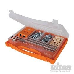 Double Mini Pocket-Hole Jig Set 8pce - T2PHJS