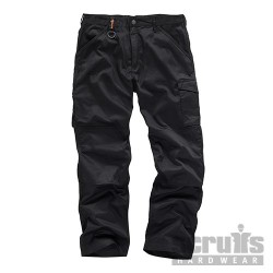 Worker Plus Trouser Black - 34R