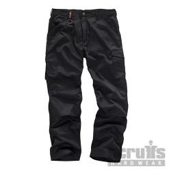 Worker Plus Trouser Black - 36R