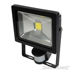 COB LED Floodlight - 20W PIR