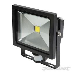 COB LED Floodlight - 30W PIR